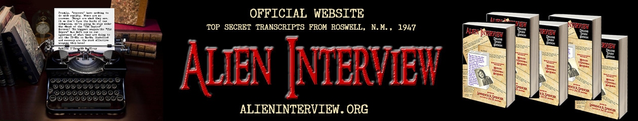 ALIEN INTERVIEW Official Website